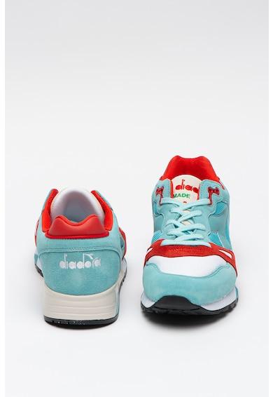 Diadora Pantofi sport cu insertii de piele S8000 NYL Barbati