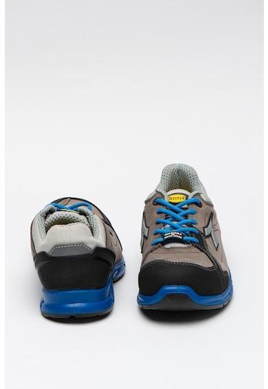 Diadora Pantofi sport unisex din piele nabuc cu garnituri contrastante D-Flex Femei