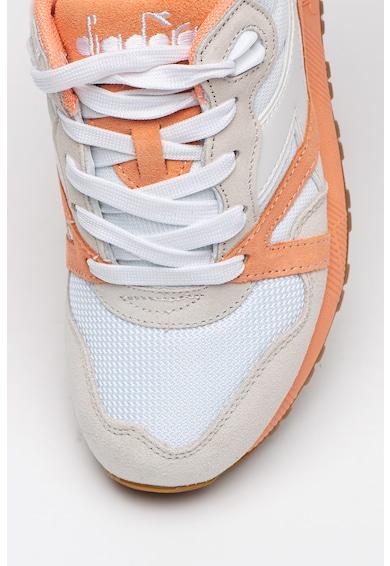 Diadora N9000 III sneaker nyersbőr részletekkel női