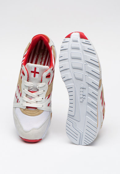 Diadora N9000 sneaker nyersbőr betétekkel férfi
