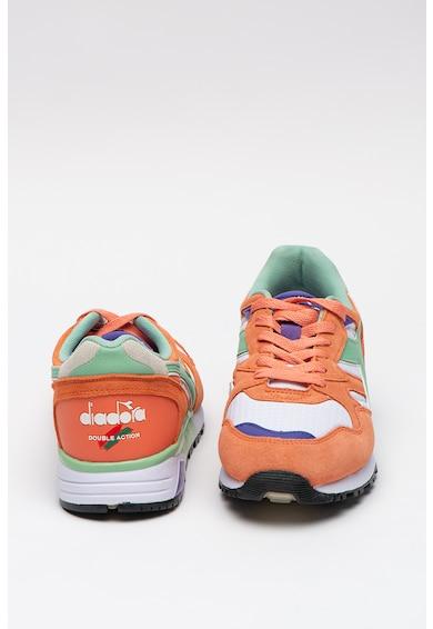 Diadora Pantofi sport cu insertii de piele intoarsa Barbati