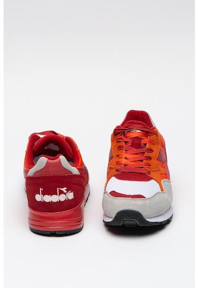 Diadora Foltmintás sneaker nyersbőr betétekkel férfi