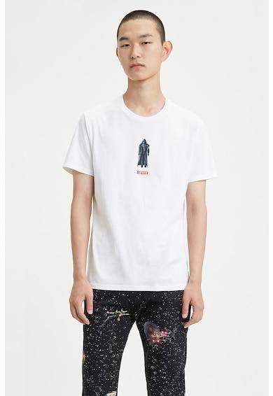 Levi's Tricou cu decolteu la baza gatului si imprimeu logo 013 Barbati