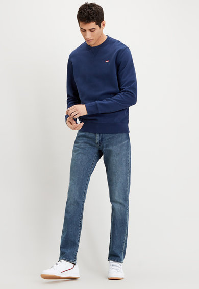 Levi's Bluza sport cu logo brodat discret Barbati