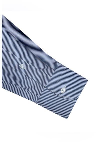 Stansfield Camasa din bumbac cu imprimeu in dungi Barbati