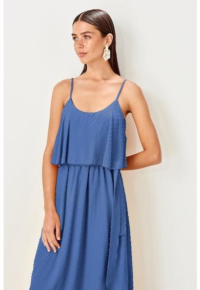 Trendyol Bővülő fazonú pántos ruha női