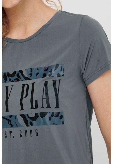 Only Play Kerek nyakú feliratos póló női