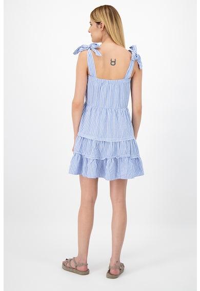 Only Bővülő fazonú lyocelltartalmú ruha szögletes nyakkivágással női