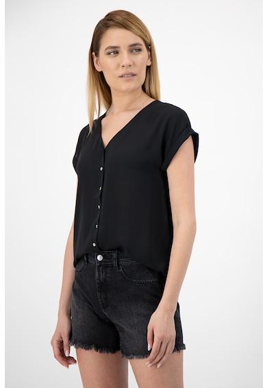 Only V-nyakú rövid ujjú ing női