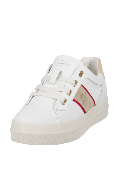 Gant Pantofi sport de piele cu insertii de piele intoarsa Femei