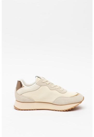 Gant Pantofi sport cu garnituri de piele intoarsa Bevinda Femei