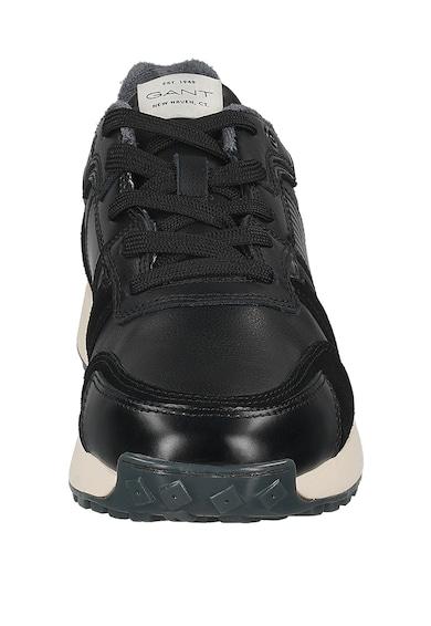 Gant Кожени спортни обувки с велур Мъже