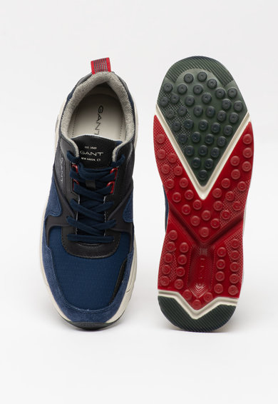 Gant Pantofi sport cu garnituri de piele intoarsa si piele Nicewill Barbati