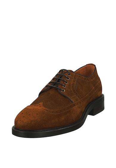Gant Pantofi brogue de piele intoarsa Barbati