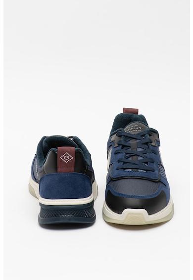 Gant Pantofi sport cu garnituri de piele intoarsa Hightown Barbati