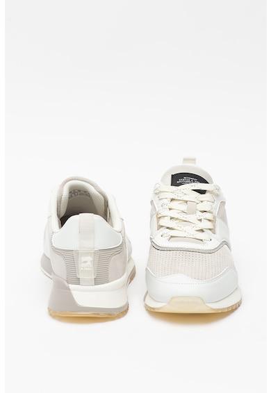 Scotch & Soda Pantofi sport de piele cu insertii de piele intoarsa Vivex Barbati