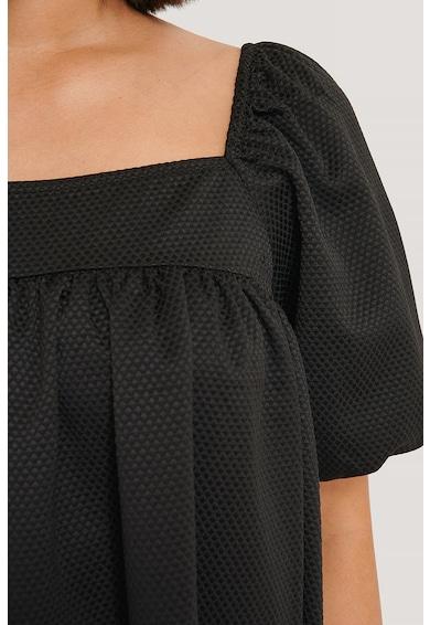 NA-KD Laza fazonú ruha szögletes nyakkivágással női