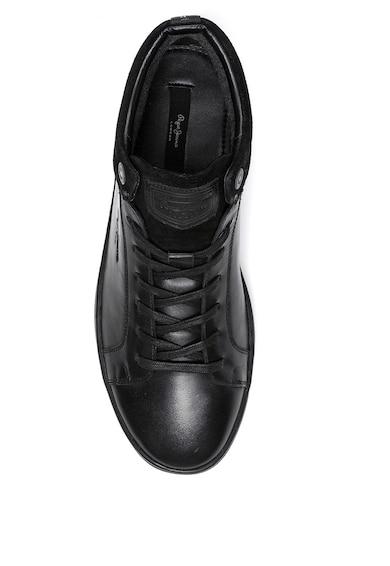 Pepe Jeans London Pantofi sport mid-high din piele Barbati