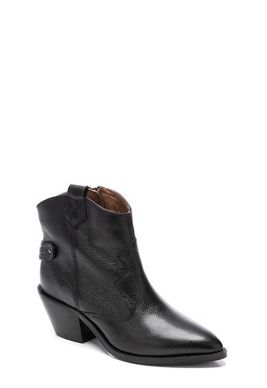 Pepe Jeans London Ghete cowboy din piele Femei