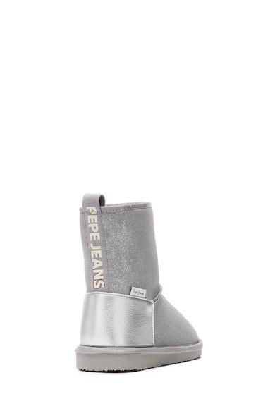 Pepe Jeans London Cizme cu branturi de blana sintetica Fete