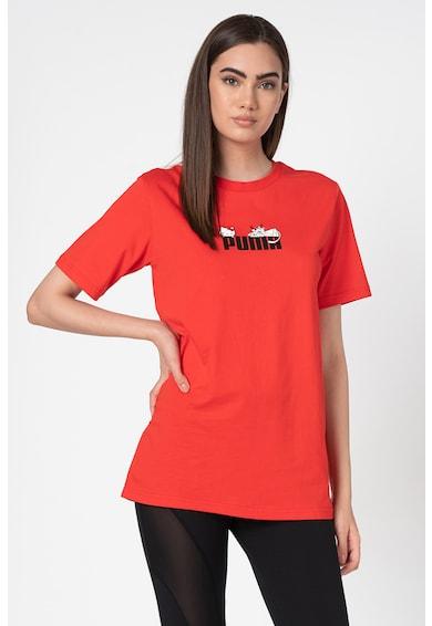 Puma Tricou lejer cu imprimeu logo Femei