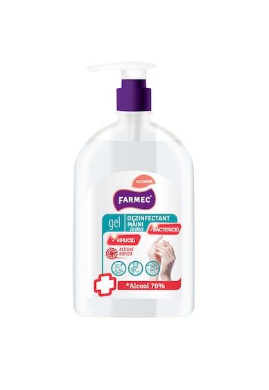 Farmec Gel dezinfectant pentru maini  cu glicerina, cu 70% alcool, efect antibacterian, 500 ml Femei