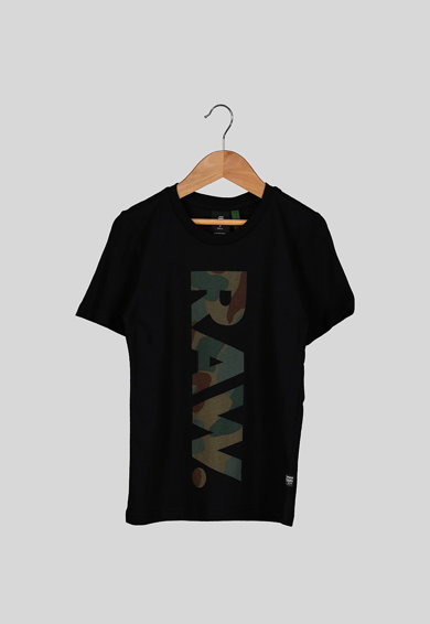 G-Star RAW Kerek nyakú logós póló Fiú