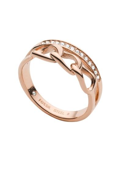 Fossil Rozsdamentes acél gyűrű női