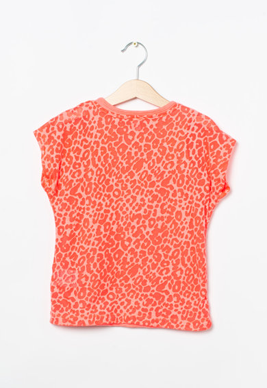 Esprit Normál fazonú állatmintás póló Lány