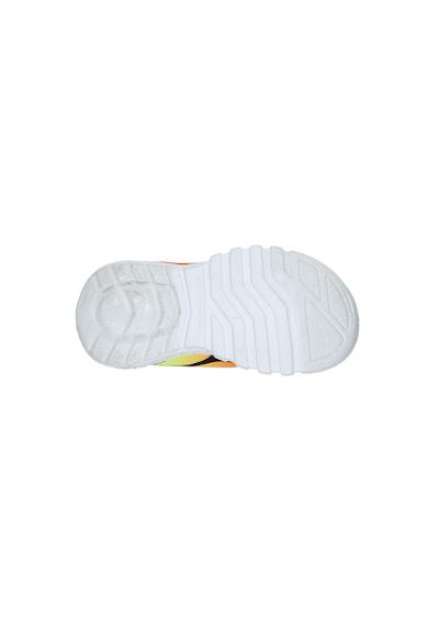 Skechers Flex Glow tépőzáras sneaker LED világítással Fiú