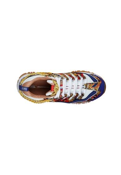 Skechers Energy - Captains View mintás sneaker női