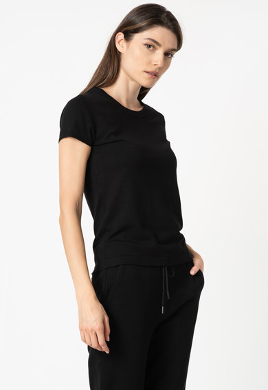 Esprit Tricou tricotat fin, cu decolteu la baza gatului Femei