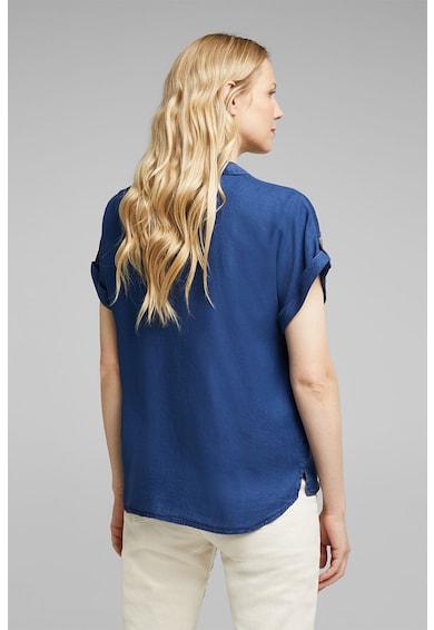 Esprit Bluza din chambray cu nasturi Femei