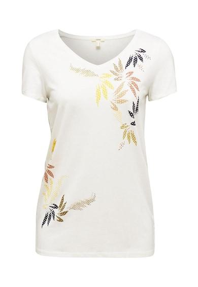 Esprit V-nyakú modáltartalmú póló női
