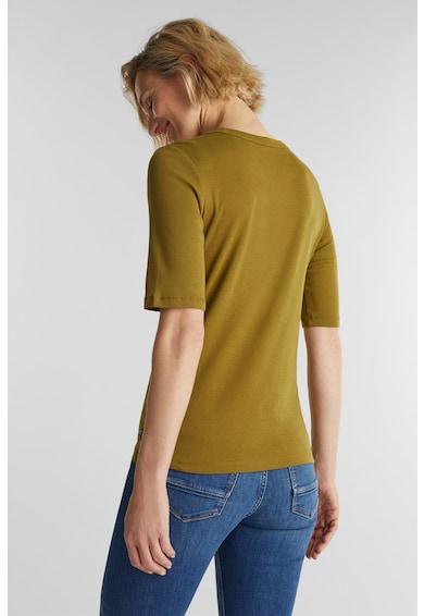 Esprit Kerek nyakú organikuspamut póló női