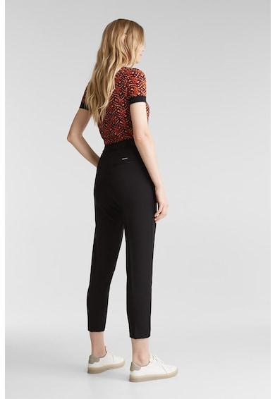 Esprit Pantaloni crop conici cu buzunare oblice Femei