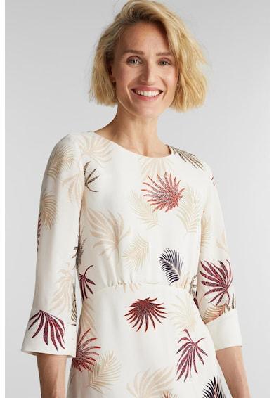 Esprit Rochie midi cu model vegetal Femei