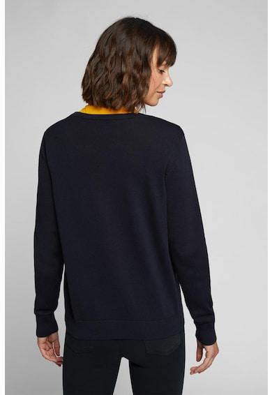 EDC by Esprit Cardigan de bumbac organic cu model cusut Femei
