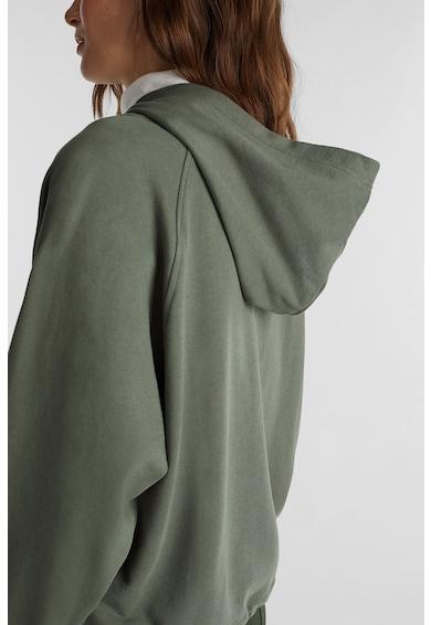 EDC by Esprit Суитшърт от органичен памук с цип Жени