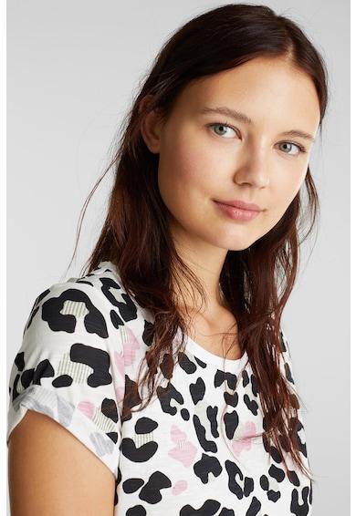 EDC by Esprit Тениска от органичен памук със стилизирана щампа Жени