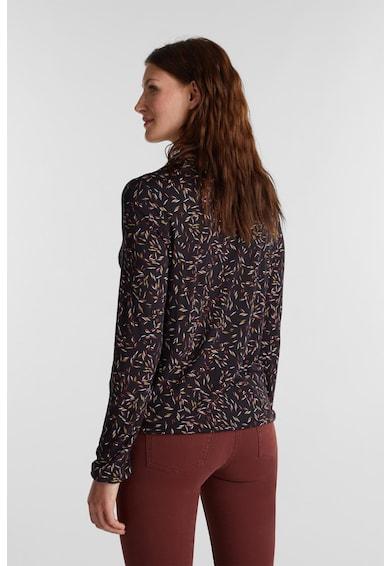 Esprit Bluza cu model si decolteu in V Femei