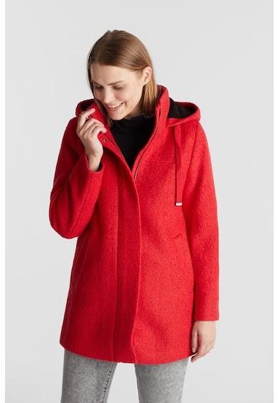 EDC by Esprit Късо палто с вълна и качулка Жени