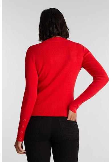 EDC by Esprit Pulover din amestec de bumbac organic tricotat fin Femei