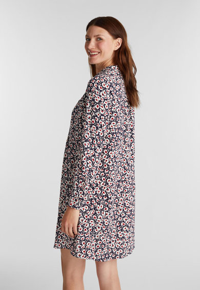 Esprit Рокля тип риза с флорален десен Жени