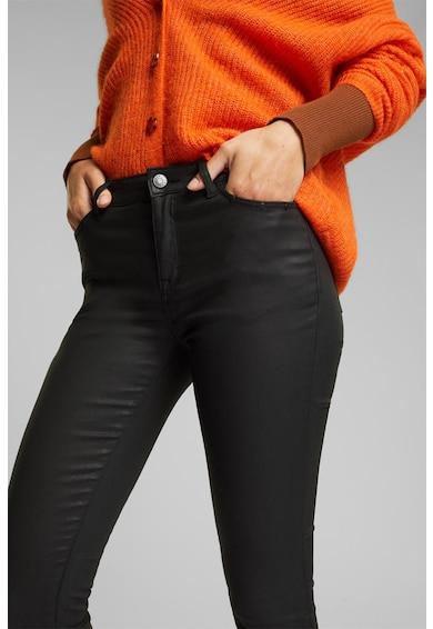 Esprit Pantaloni skinny cu aspect peliculizat Femei