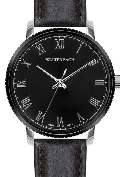 Walter Bach Kerek kvarc karóra férfi