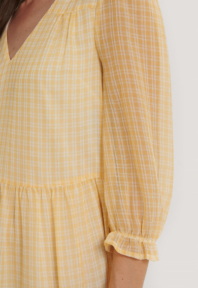 NA-KD Kockás bővülő ruha női