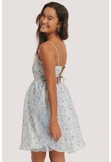 NA-KD Bővülő fazonú virágos miniruha női