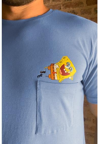 Trendyol Tricou cu decolteu la baza gatului si detaliu Spongebob Barbati
