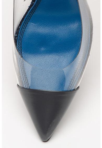 Diesel Pantofi cu toc inalt si detalii transparente Slanty Femei